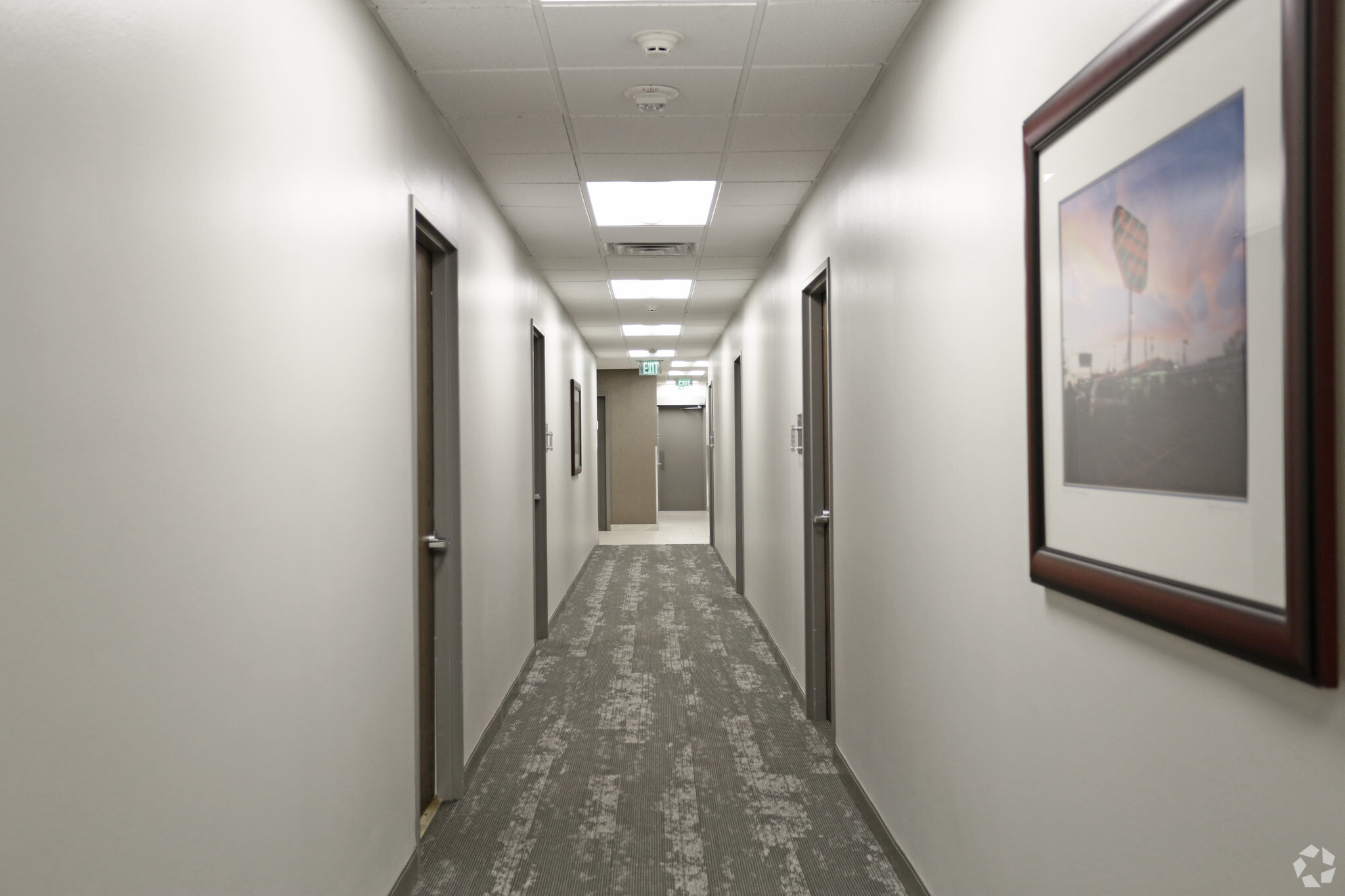 1151 N Buckner hallway