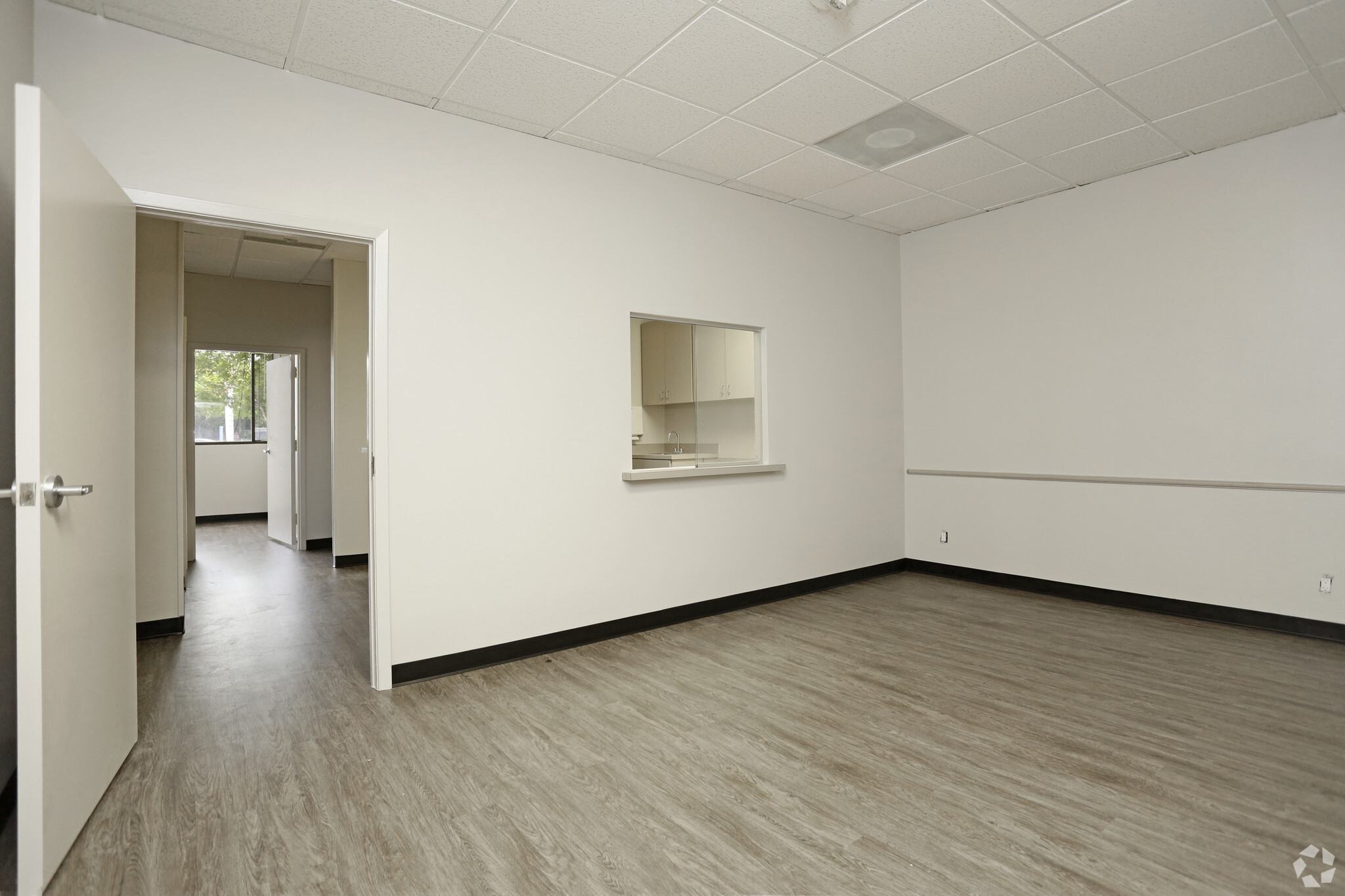 Medical office suite waiting area