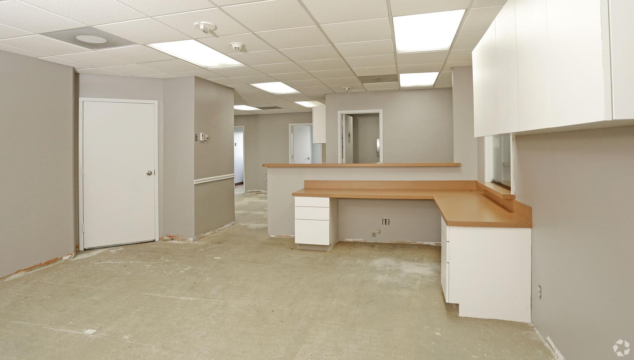 1151 N Buckner medical office reception area